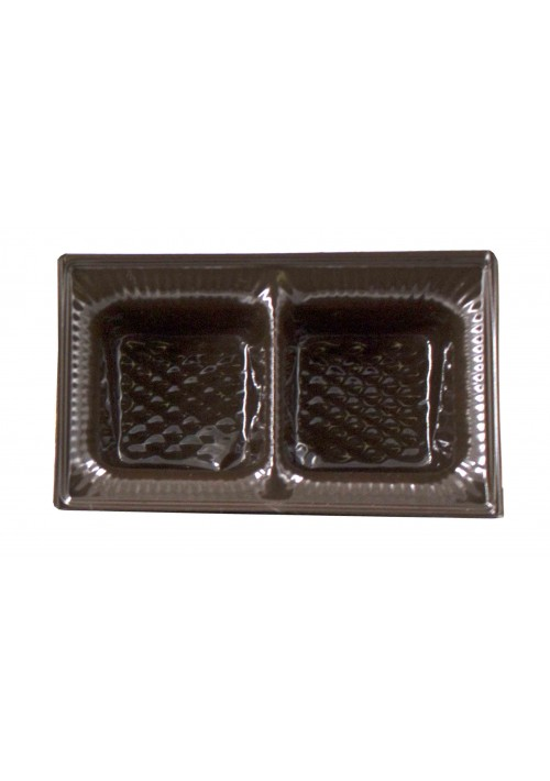 TR8021 - 2 Cavity Tray - Brown