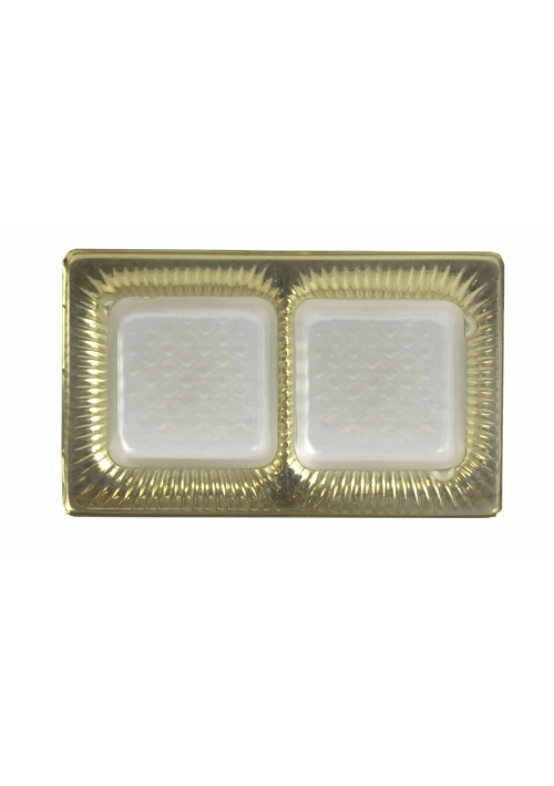TR8021 - 2 Cavity Tray  - Gold