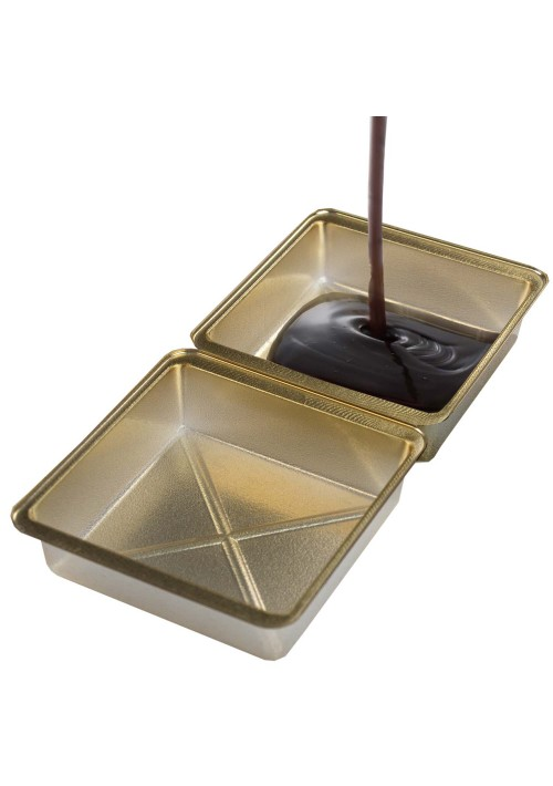 1 or 2 Cavity - Direct Pour - Gold - 100ct