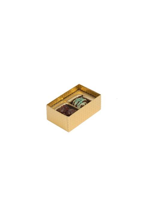 V202 - 1 oz. Favor Box - Clear Vinyl Lid Candy Box - Assorted Colors - 100 per Case