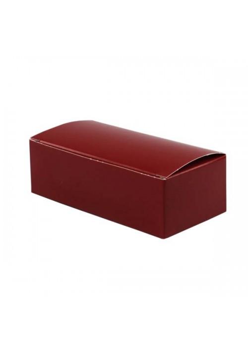1 lb. Red Folding Candy Box