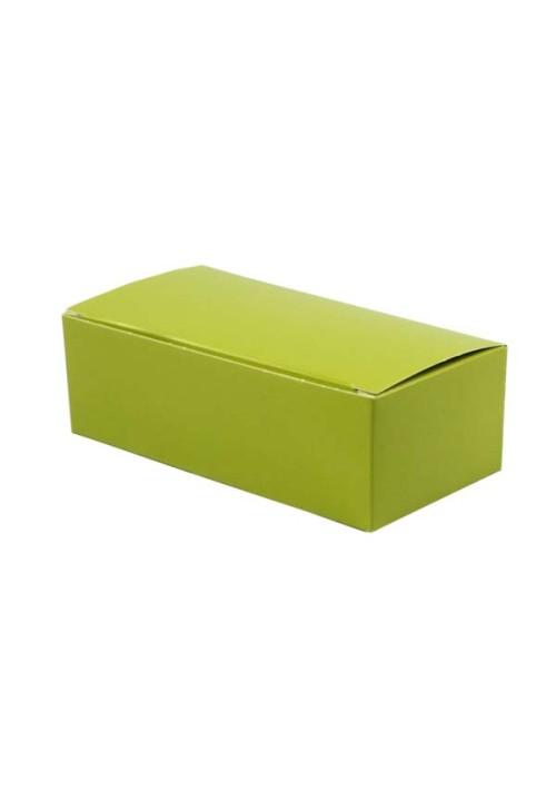 1 lb. Leaf Green Folding Candy Box