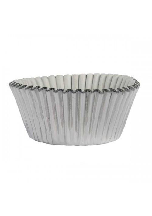 CP0125-351  -   1-1/4 Silver Foil Candy Cup  - 1000 per Case