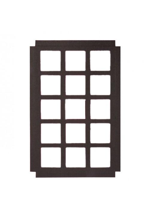 15 Square Cavity Die Cut Paperboard Platform - 200 per Case