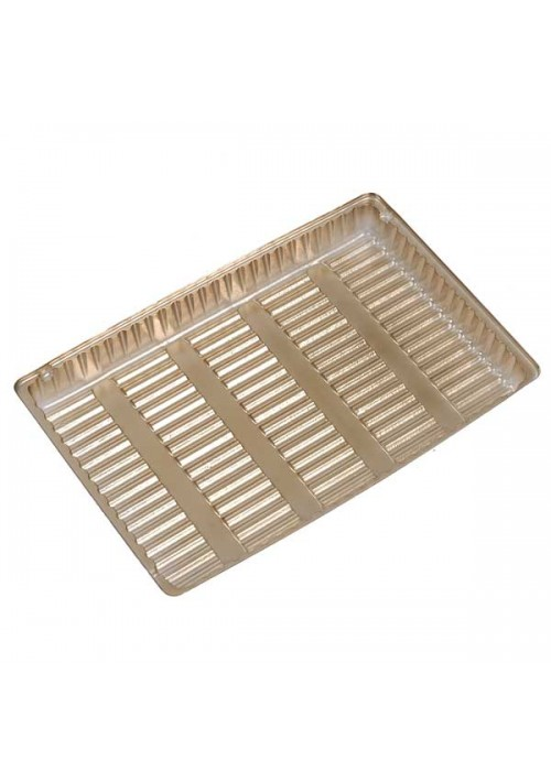 TR8011 Series - 1 Cavity Tray | 100 or 500 Case Pack | Gold or Brown