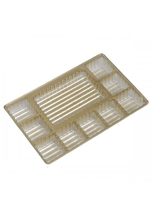 TR8091 Series - Logo Bar Tray | 100 or 500 Case Pack | Gold or Brown