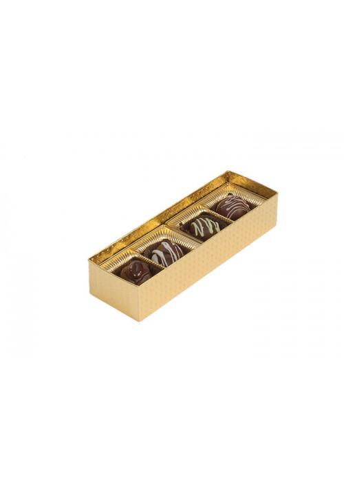 V202X2 - 2 oz. Favor Box - Clear Vinyl Lid Candy Box - Assorted Colors - 100 per Case